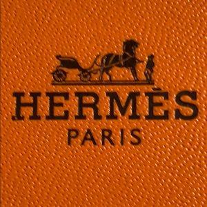 Hermes Paris Fine Jewelry bracelet or watch Box
